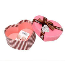 Luxury Gift Packaging Box Wedding Printed Heart Shaped